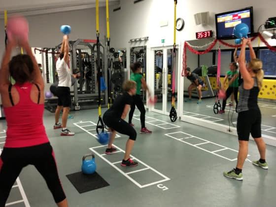 Kettlebell trening